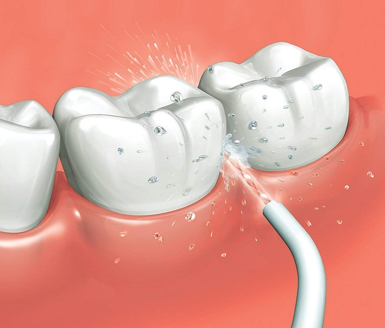 Panasonic Oral Irrigator Illustration