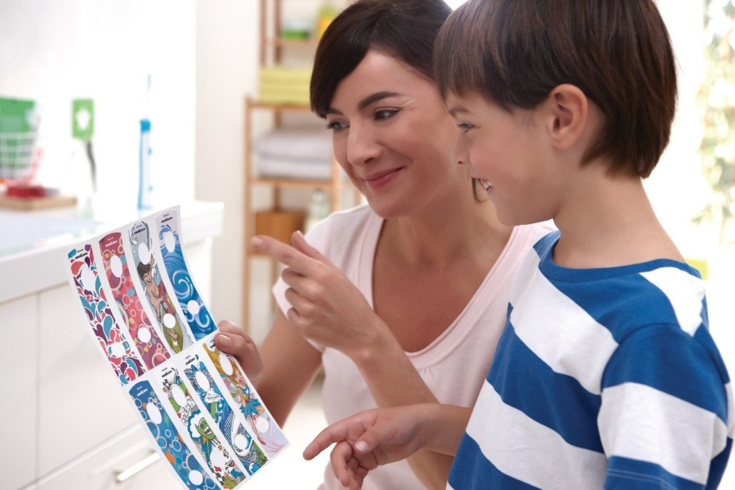 Philips Sonicare for Kids - Choosing the Sticker