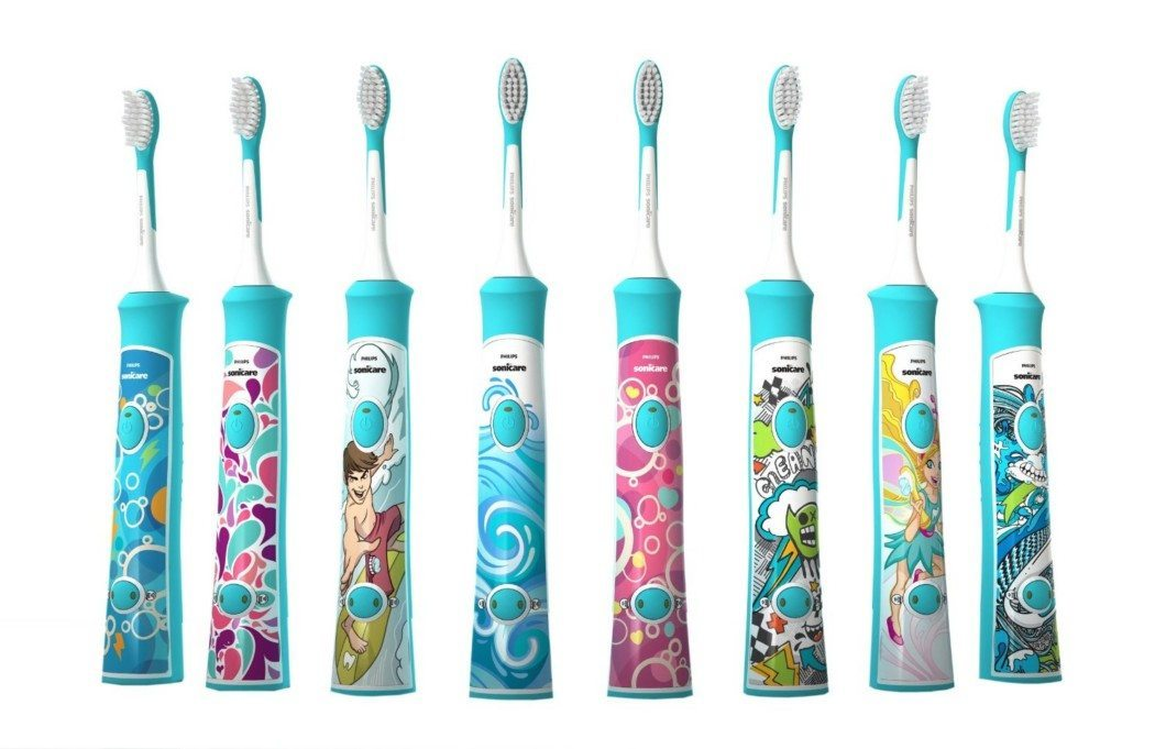 Philips Sonicare Electric Toothbrush for Kids Sticker Options