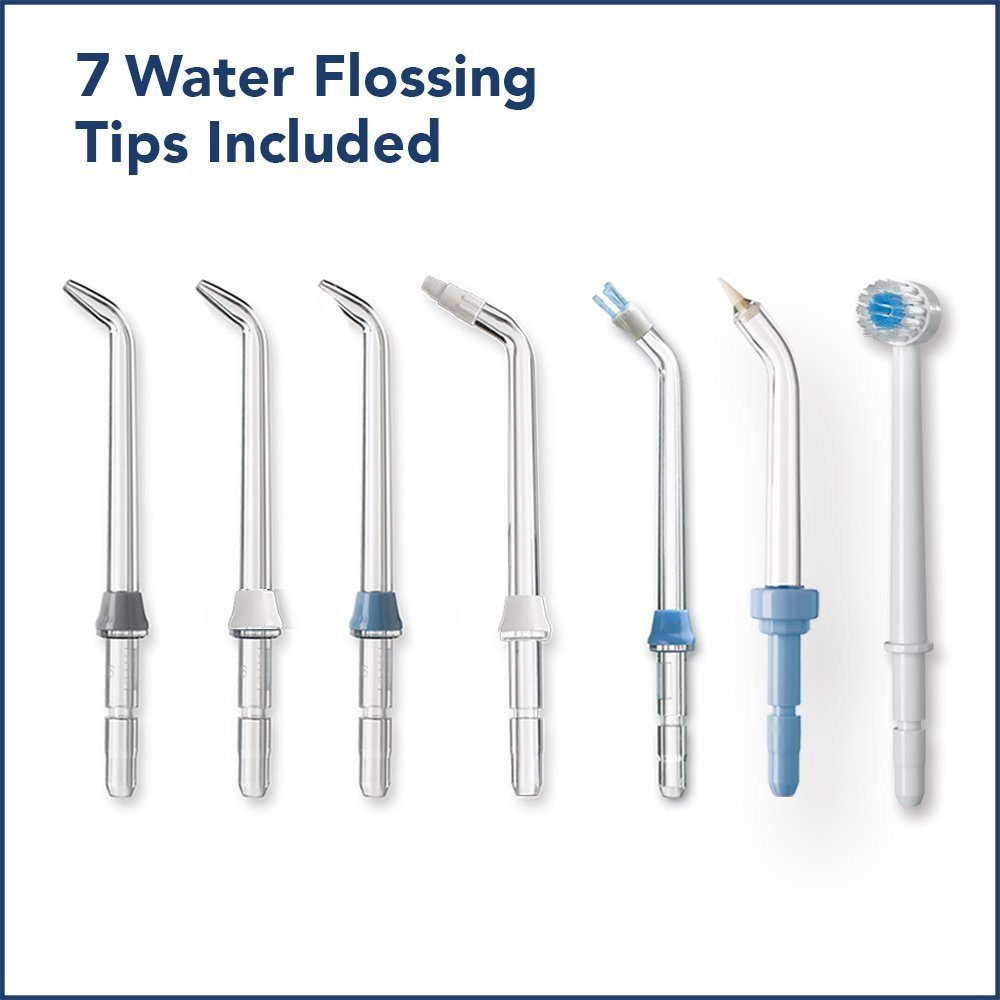 All 7 of the nozzles that come with the Waterpik WP660