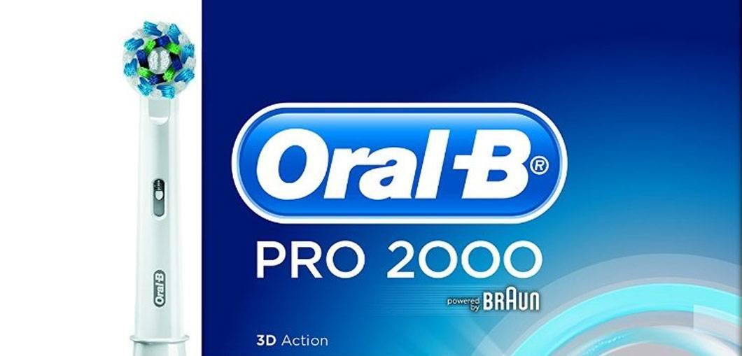 Oral-B Pro 2000 Header